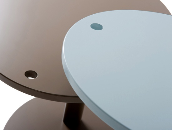 BIXBIT coffee tables Dot  design: Kuba Blimel