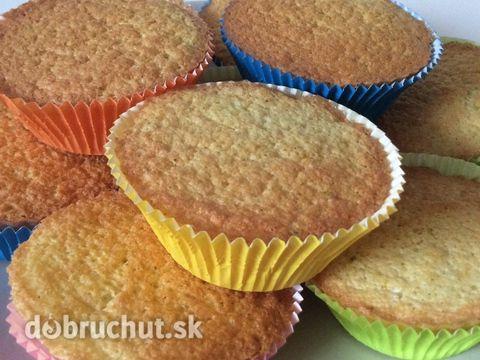 Limetkové diétne muffiny z ryžovej múky