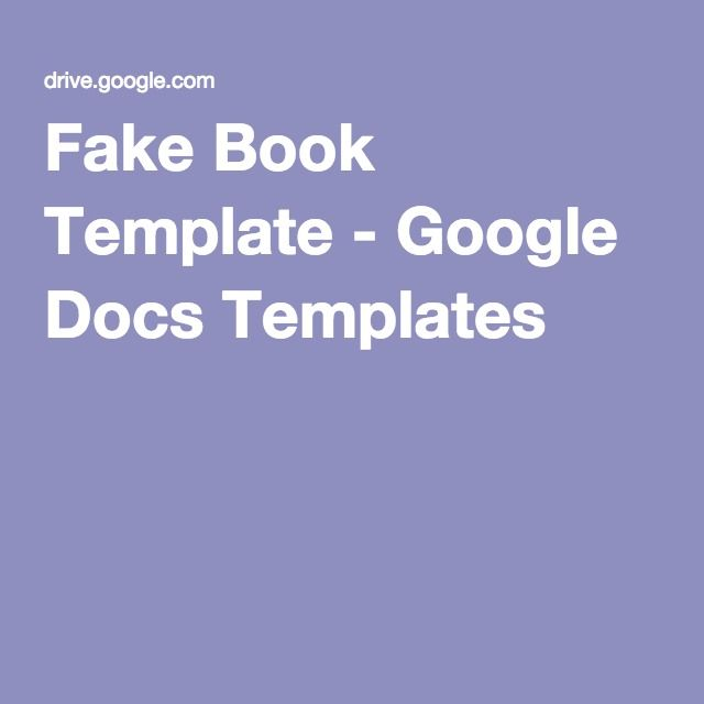 fake document templates