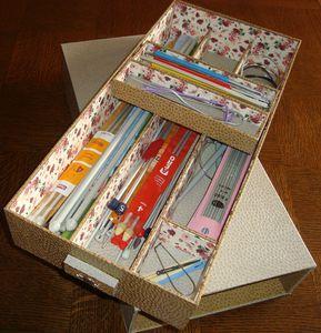 Boîte à aiguilles et crochets 4