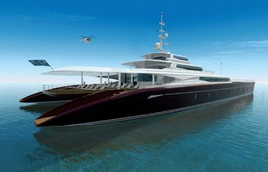 Event Cat Concept Yacht Marks The Green Future Of Luxury