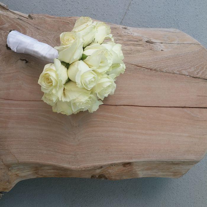 Bouquet de mariée ! #flowers #roses #wedding