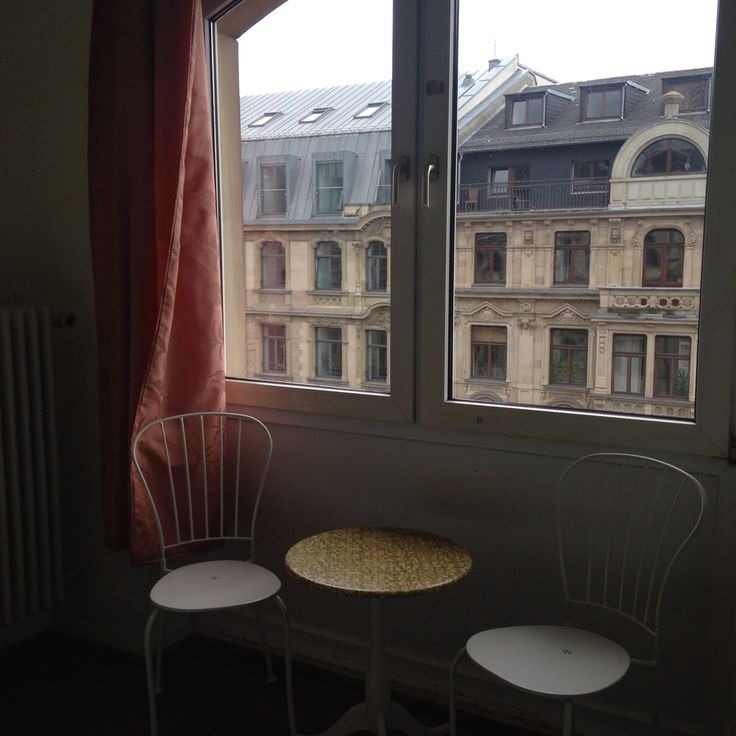 Table for 2 with a window view - our room
