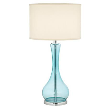 glass table lamp blue glass lamp master bedrooms and reading lamps