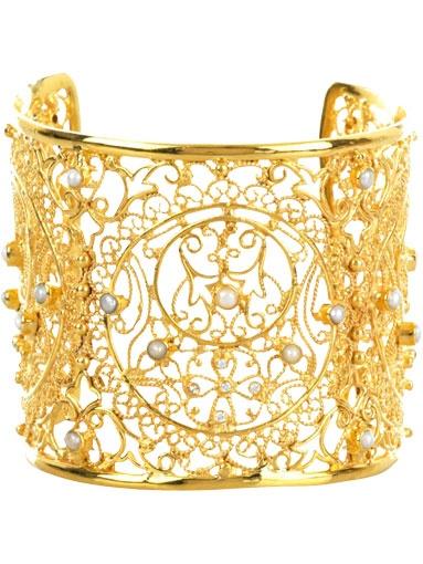 Sardinian filigree jewelry, bracelet