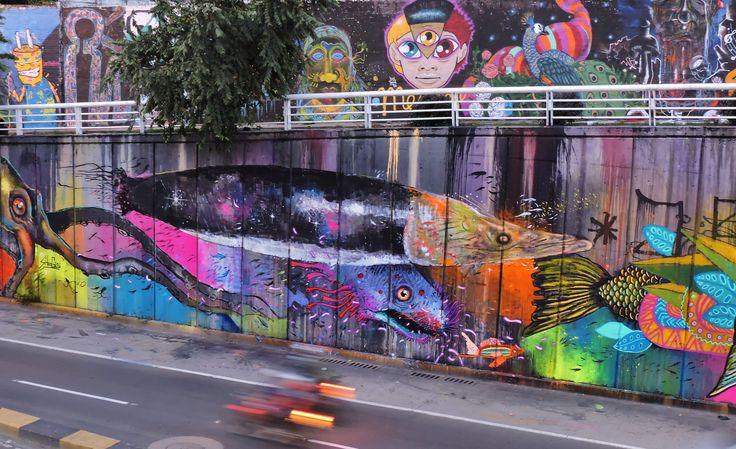 Arapaima nadando entre sueños...   por Jorge Niño