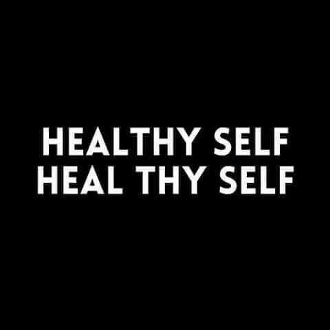 Heal thy self !!!