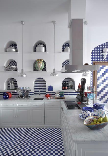 kitchen la maison - maison la minervetta a sorrento