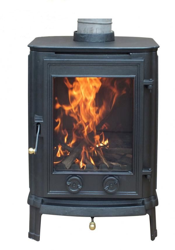 Traditional Style Cast Iron Multi Fuel Stove This Stove