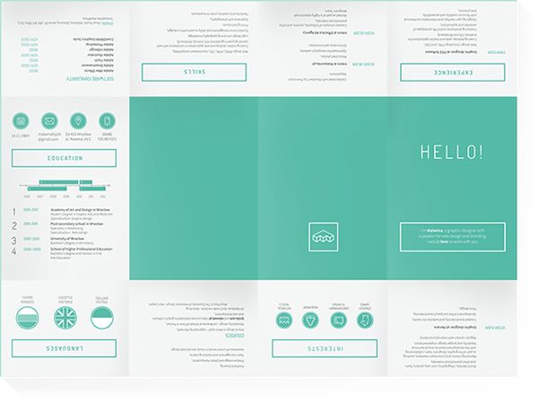 29 best Resumes images on Pinterest Resume design, Creative - Resumes That Get Noticed