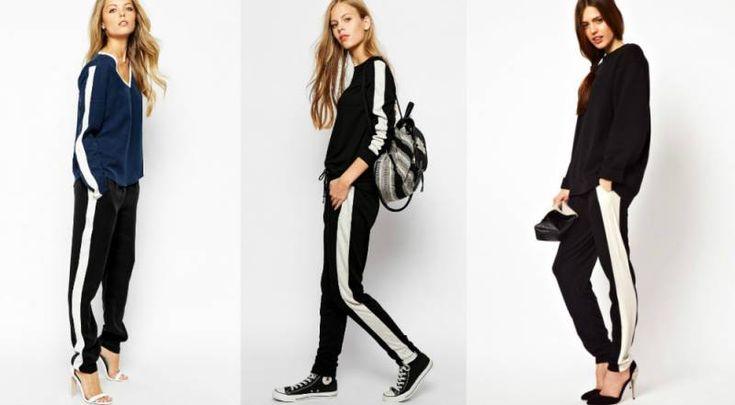 Женские брюки с лампасами. Как решиться надеть, советы стилистов