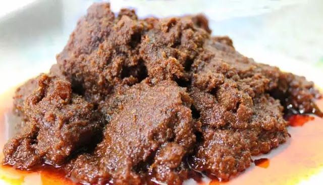 Resep Rendang Padang Asli Minang Sederhana Resep Makanan Makanan Masakan Simpel