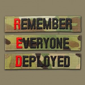It's RED Friday, remember everyone deployed