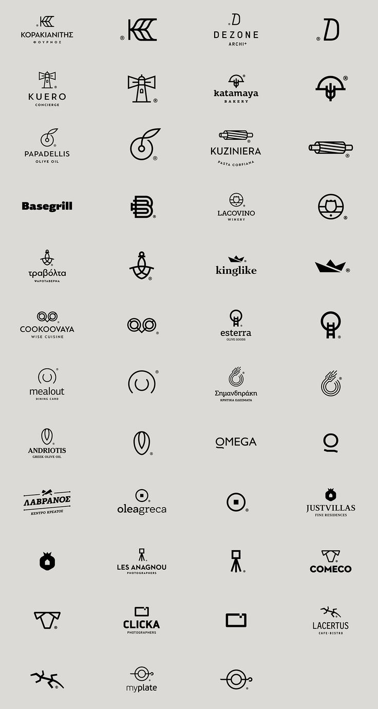 Logos in Black vol. II on Behance