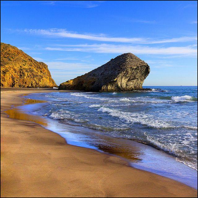 Playa de Monsul. Almería