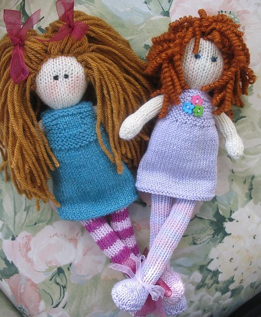 Debbie Bliss rag doll pattern.
