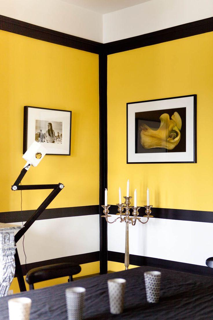 Sarah Lavoine, une de mes décoratrices préférées, qui n'a pas peur de la couleur et sait la manier avec virtuosité !!!