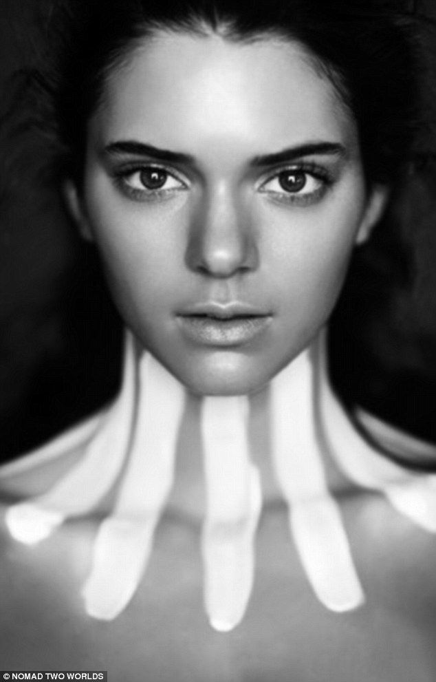 Art: Kendall Jenner has appeared in Russel James' work in the past, which fosters the work of Indigenous artists