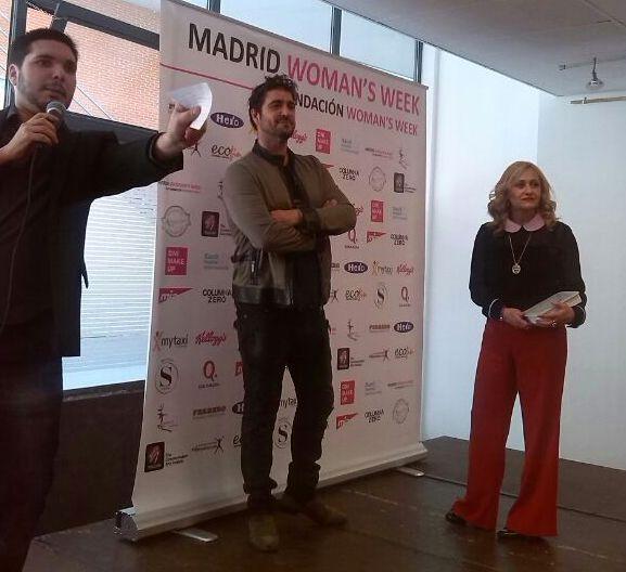 Antonio Orozco con nosotras en la Madrid Woman's Week.