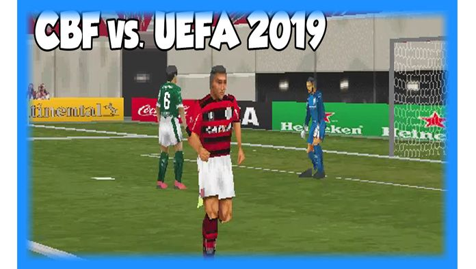 CBF vs  UEFA 2019 (PS1) - Hack Download | game download de 2019