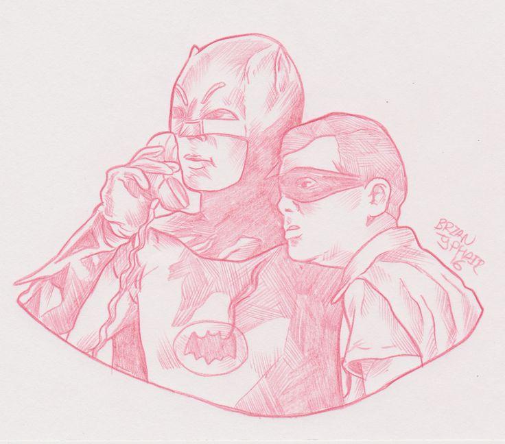 #Batman #AdamWest #BurtWard #DCComics DCEntertainment #TVshow #Comicbooks