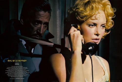 Dial M for murder by annie liebovitz