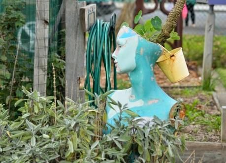 Food growing inspiration from Veg Out Community Garden - St Kilda
