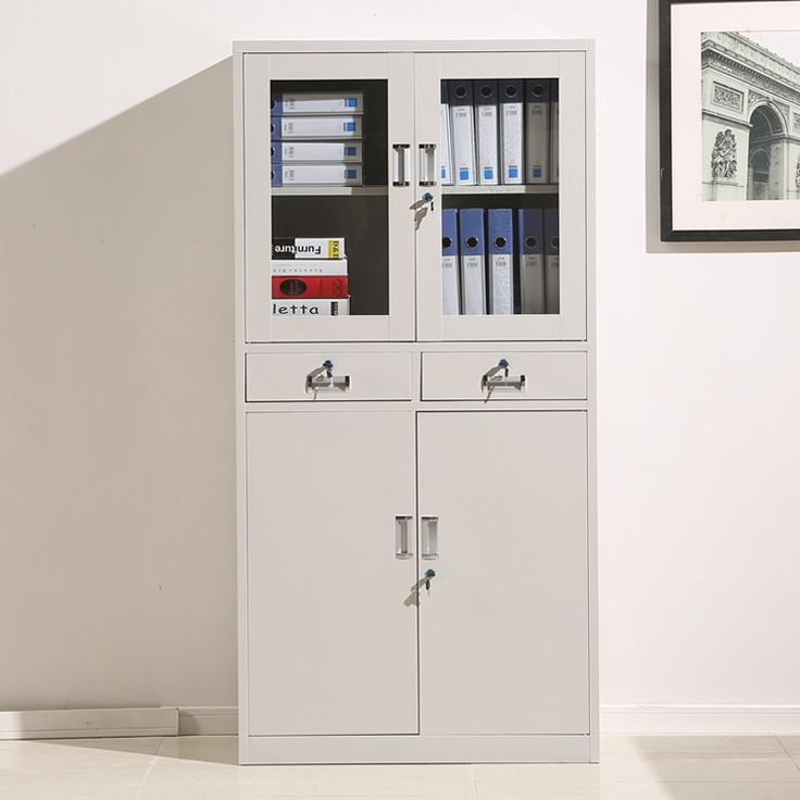 Liusen brilliant design 2 drawer steel white office steel filing cabinet