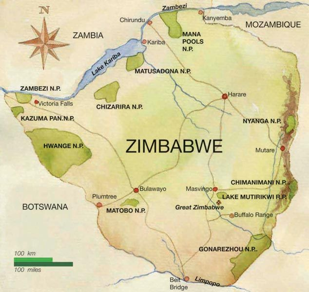 "Z - Zimbabwe  ""Nestled near the southern tip of Africa, Zimbabwe is home to more than 12 million people. It has been an independent nation since 1980 and is officially known as the Republic of Zimbabwe. It is primarily a savanna, in a tropical climate."" -http://www.listofcountriesoftheworld.com"