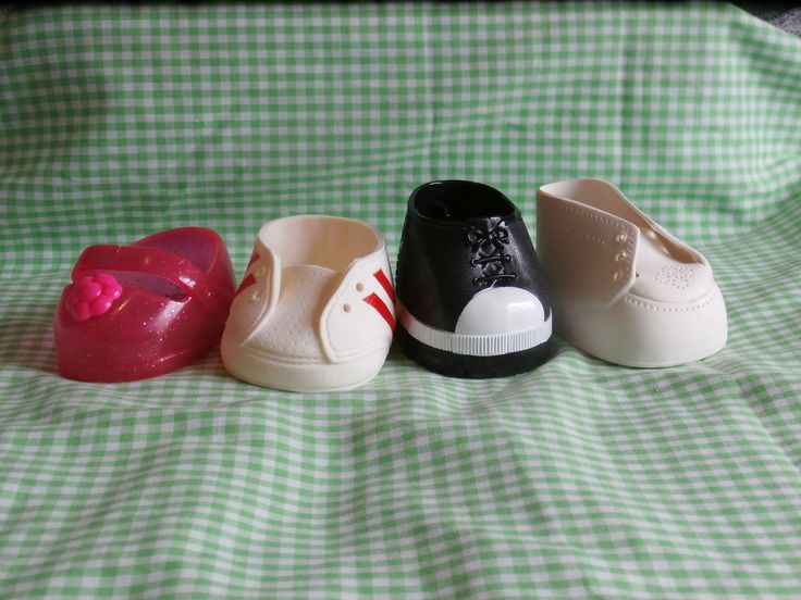 Excited to share the latest addition to my #etsy shop: 4 Cabbage Patch Kids Shoes NO PAIRS Different Shoe Lot for Craft or Replacemnt Black White Pink and Sneaker http://etsy.me/2E0mH46 #toys #dollclothes #white #pink #vintage #toy #teamwwes #doll #dollshoes