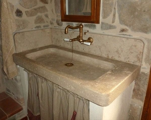 Senanque Single Bowl In 2020 Stone Sink Sink Stone Bowl