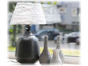 Best Home Crafts Images On Pinterest Home Crafts DIY And - Diy cloud like yarn lampshade