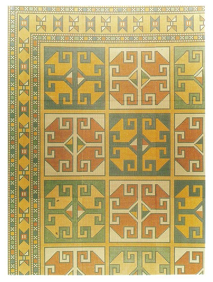 Turkish Handwowen Carpets Project (Pattern No.0012-1)