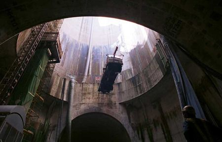 Tokyo sewer system.: Storms Sewer, Storage Area, Discharg Channel, Pennies, Japan Storms, Places, Drinks, Mirror Edge, Sewer System