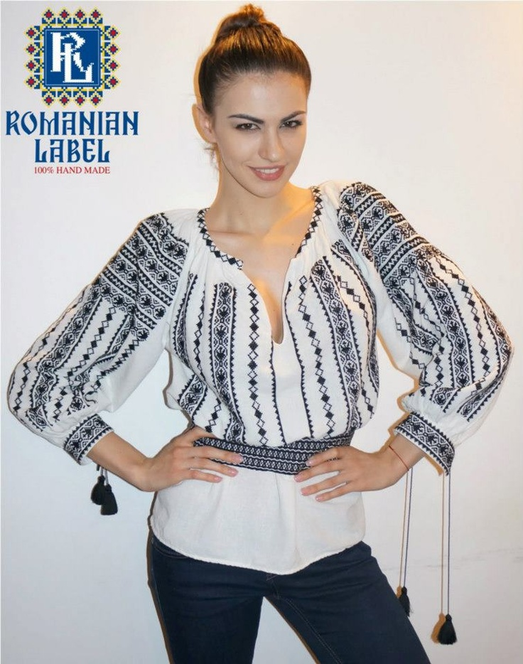 http://www.romanianlabel.ro/ii-cu-maneca-lunga/ie-traditionala-romaneasca-cu-maneca-lunga-RL0075  Ie traditionala romaneasca cu maneca lunga RL0075 ($162)
