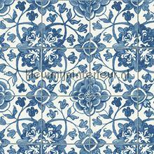 Azulejos tegels met relief behang 962471 Keuken AS Creation