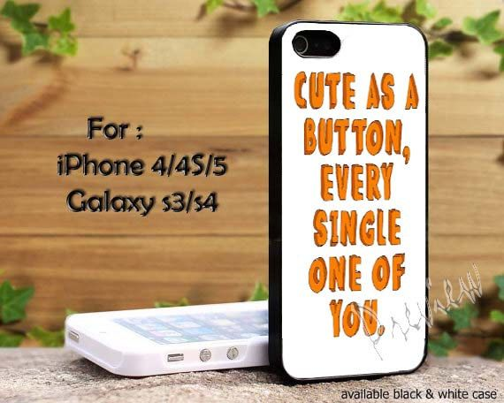 One Direction Quote cute as a button every by RichzMeiChanShop, $14.89