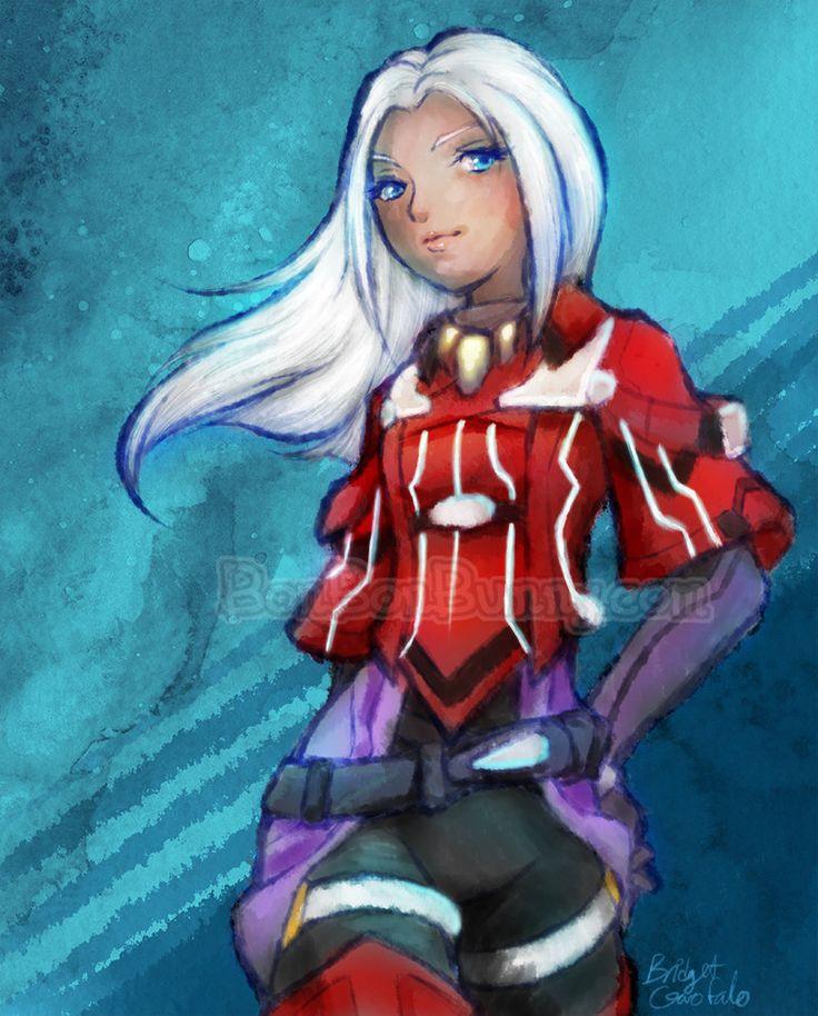 Elma (+ Graphic Tees!) - Xenoblade Chronicles X by Bon-Bon-Bunny.deviantart.com on @DeviantArt