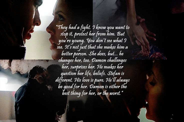 When rose said this I was like thank youuuuuu!! Best explanation as to why Damon is the better choice for Elena.