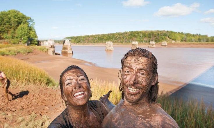 Fundy Tidal Interpretive Centre:    FUN!!!! As long as you know where the nearest laundromat is!