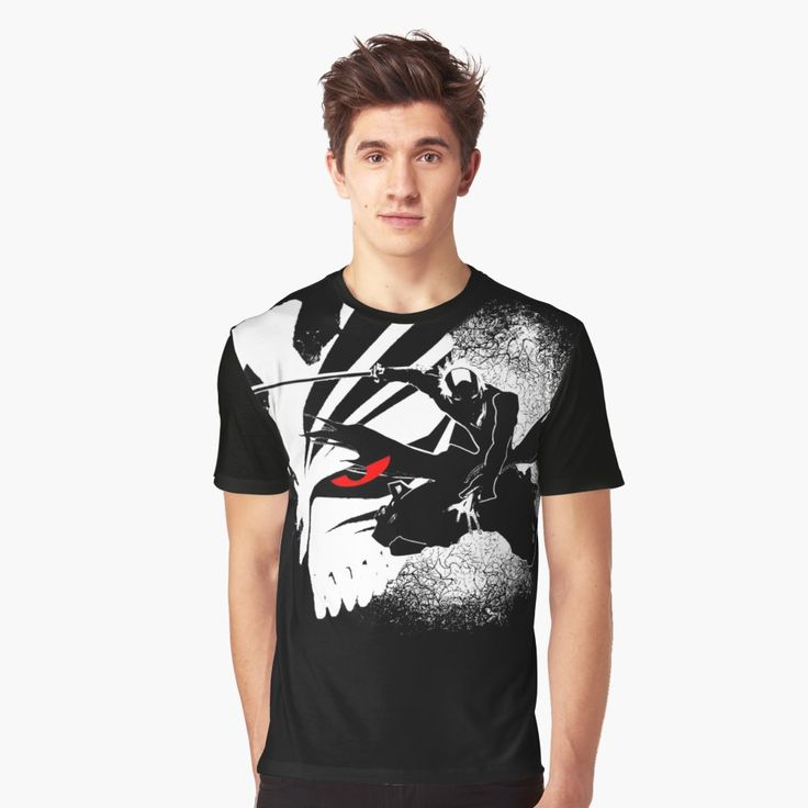 Ichigo bankai - Bleach Graphic T-Shirt Front