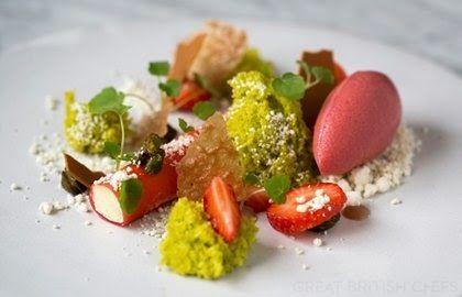 Strawberry, pistachio and white chocolate - Lee Westcott ~ Recipes