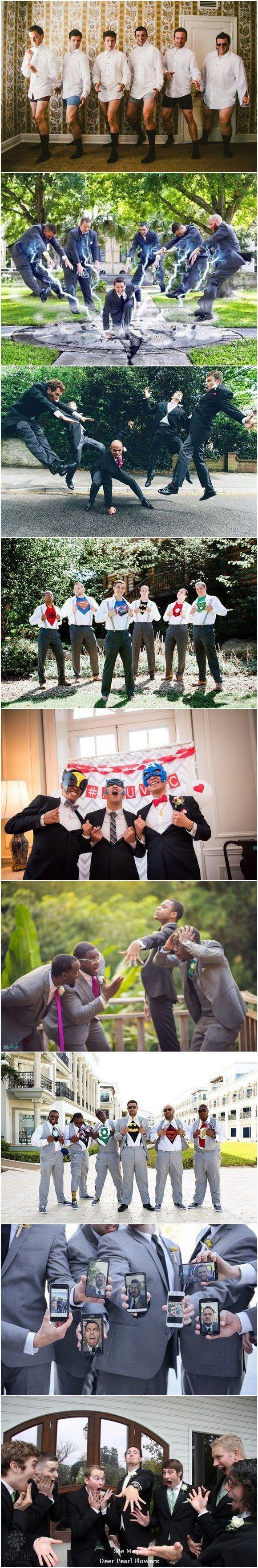 funny groomsmen wedding photo ideas / http://www.deerpearlflowers.com/fun-groomsmen-photo-ideas-and-poses/?utm_content=buffer5460e&utm_medium=social&utm_source=pinterest.com&utm_campaign=buffer Find your inspo at www.pinterest.com/laurenweds/wedding-photography?utm_content=bufferb3a14&utm_medium=social&utm_source=pinterest.com&utm_campaign=buffer