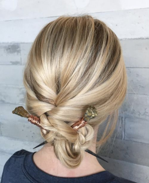 40 effortless updos for lazy girls in style - # lazy #dressing hairstyles #madchen #muhelose - #new