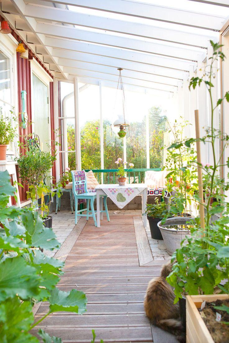 Ett växthus att bo i - Hildas