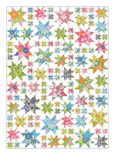 """""""Oh My Stars!"""" Quiltalong @ Thought and Founf"""