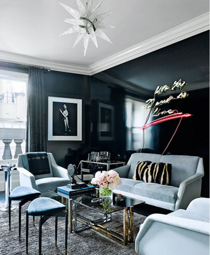 A Shining Example for Walls: Luxe Lacquer & Polished Plaster