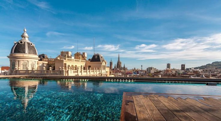 HOTEL スペイン・バルセロナのホテル>バルセロナの歴史的中心部に位置するブティックホテル>オーラ ホテル(Ohla Hotel)