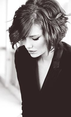 I can't even stand how awesome she is.  Lauren Cohan
