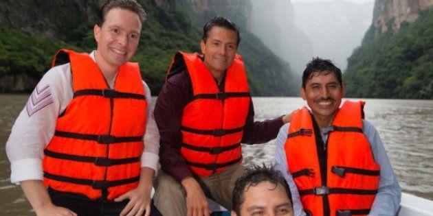 El presidente Enrique Peña Nieto estuvo de visita en Chiapas para celebrar Día Internacional de los Pueblos Indígenas. Durante su estancia, un grupo de ciudadanos de la localidad de Chiapa de Corzo se manifestaron en contra del mandatario, lo que terminó con la retención de siete policías federales por parte de los pobladores.